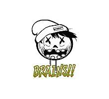 Zombie Neff Brains Photographic Print