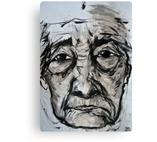 elderly lady 2 Canvas Print
