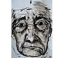 elderly lady 2 Photographic Print