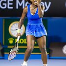 Aust Open 09 - Serena Williams by Clinton Plowman