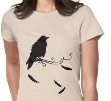 Quoth the Raven... Nevermore Womens Fitted T-Shirt