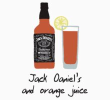 Jack Daniel's and orange juice - Gallavich - Shameless by frnknsteinn
