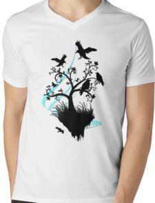 floating island Mens V-Neck T-Shirt