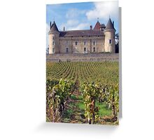 Chateau de Rully Greeting Card