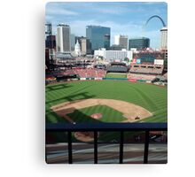 Busch Stadium - St. Louis Cardinals Baseball Canvas Print