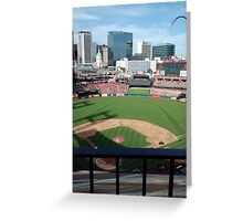 Busch Stadium - St. Louis Cardinals Baseball Greeting Card