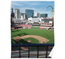 Busch Stadium - St. Louis Cardinals Baseball Poster