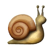 Snail Apple / WhatsApp Emoji by emoji