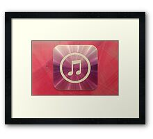 The Music of Purple and Pink   Framed Print