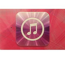 The Music of Purple and Pink   Photographic Print