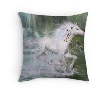 Wanageeska (White Spirit - Sioux) Throw Pillow