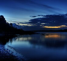 Night Fishing, Sawtell Beach, NSW by Wendy  Meder