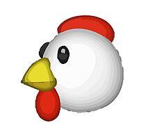 Chicken Apple / WhatsApp Emoji by emoji
