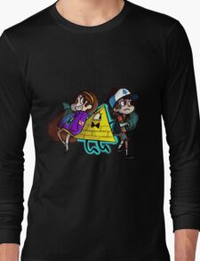 Bill and his Buddies (Transparent) Long Sleeve T-Shirt