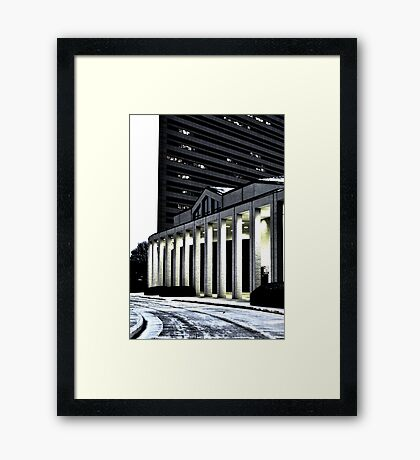 south architecture Framed Print