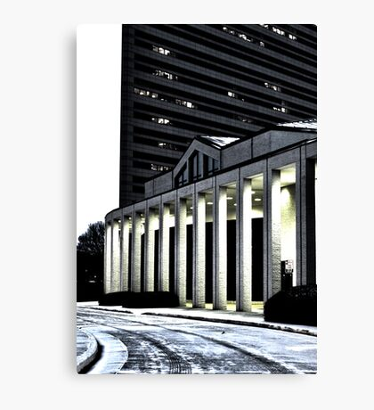 south architecture Canvas Print