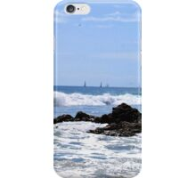 Sails in the distance iPhone Case/Skin