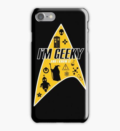I am Geeky iPhone Case/Skin