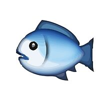 Fish Apple / WhatsApp Emoji by emoji