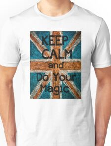 Keep Calm and Think Big message Unisex T-Shirt