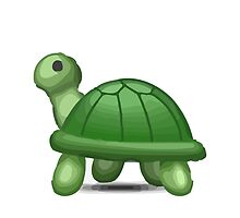 Turtle Apple / WhatsApp Emoji by emoji