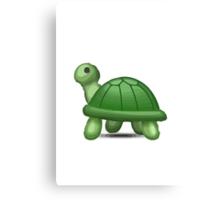 Turtle Apple / WhatsApp Emoji Canvas Print
