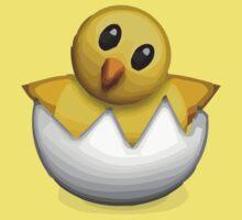 Hatching Chick Apple / WhatsApp Emoji Kids Clothes