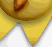 Hatching Chick Apple / WhatsApp Emoji Sticker