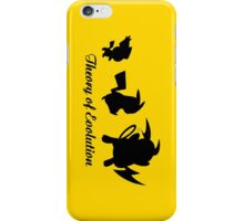 Darwin - Theory Evolution - pikachu - pokemon iPhone Case/Skin