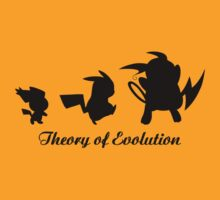 Darwin - Theory Evolution - pikachu - pokemon by KokoBlacksquare