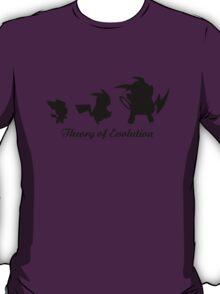 Darwin - Theory Evolution - pikachu - pokemon T-Shirt