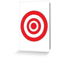 bullseye Greeting Card