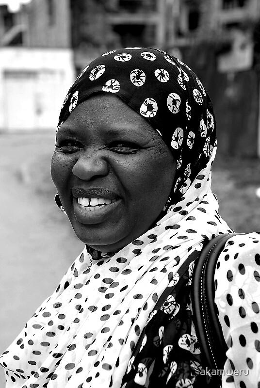 Portrait of Kenyan Women 1 by akamweru