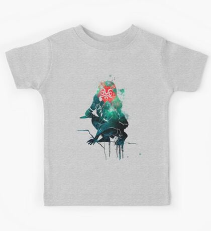Princess Mononoke Watercolor Kids Tee