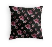 Peony Leggings Throw Pillow