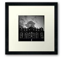 Vatican in Holga Framed Print