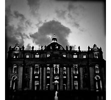 Vatican in Holga Photographic Print