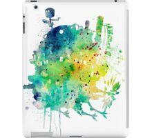 Howl's Moving Castle Watercolor iPad Case/Skin