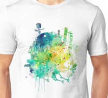 Howl's Moving Castle Watercolor Unisex T-Shirt