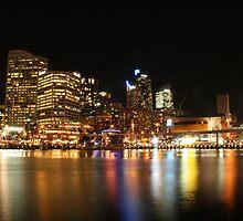 Sydney's Darling Harbour by Kezzarama