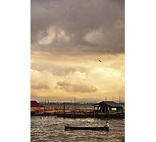Indonesian Fisherman Photographic Print