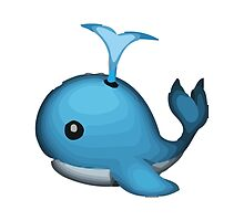 Spouting Whale Apple / WhatsApp Emoji by emoji