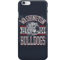Washington - Bulldogs iPhone Case/Skin