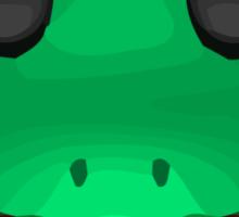 Frog Face Apple / WhatsApp Emoji Sticker