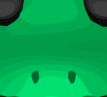 Frog Face Apple / WhatsApp Emoji Sticker