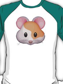 Hamster Face Apple / WhatsApp Emoji T-Shirt