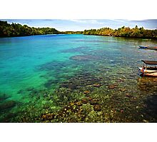 Indonesian Water Photographic Print