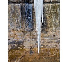 Canyon Icicle Photographic Print