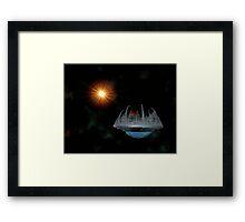 Planet Factory Framed Print