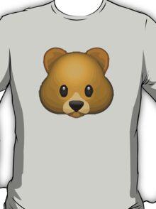 Bear Face Apple / WhatsApp Emoji T-Shirt